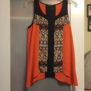 THML Sleeveless Blouse size Small